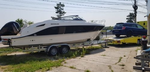 Barca Quicksiver 805CR cu Mercury F225 XL