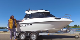 Barca GRIZZLY PRO 600 HT